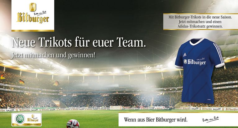 Bitburger Bier Gewinnspiel